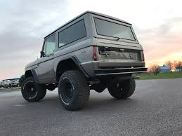 1977 ford bronco maxlider brothers customs