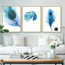 popular peacock feather poster buy cheap peacock feather poster