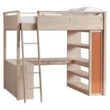 twin loft bed with desk and storage dark cappuccino small
