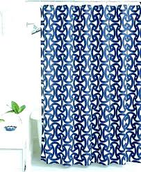 white curtain rings images Dark blue shower curtains navy and white curtain rings ribbon trim jpg