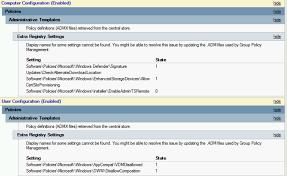admx version history u2013 group policy team blog