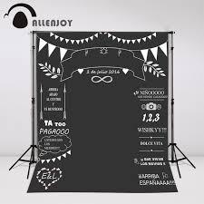 wedding backdrop banner allenjoy custom wedding blackboard name date photocall photography