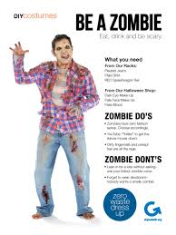 goodwill diy halloween costume zombie goodwill diy halloween