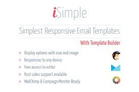 responsive email signature builder email templates creative