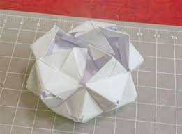 modular origami how to make a cube octahedron u0026 icosahedron from