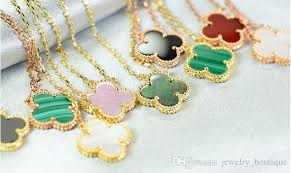 necklace brand names images Wholesale 18k real gold material jewelry popular necklace name jpg