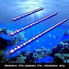 aquarium lights for sale 1pcs 54w 81w 108w waterproof ip65 waterproof led aquarium bar light