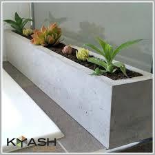 planters large concrete planters cement industrial sign planter