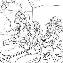 treasure planet 9 coloring pages hellokids