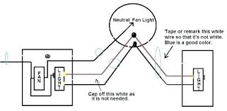 how to wire a ceiling fan to a wall switch wiring diagram ceiling fan light 3 way switch boatylicious org