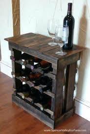 wood crate wine rack diy unique handmade designs u2013 home design