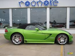dodge viper 2008 for sale 2008 dodge viper srt 10 in viper snakeskin green pearlcoat