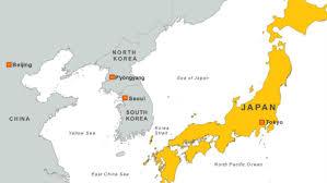 map us japan strong quake rocks pacific floor japan