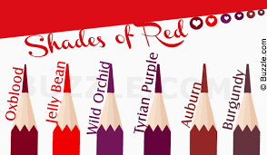 different shades of red with these pictures get to know about the different shades of red