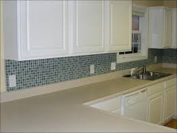 black and grey glass tile backsplash kitchen dark grey shinny