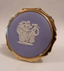 antiques atlas something blue gifts stratton wedgwood compact