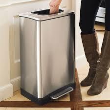 built in trash compactor trash krusher trash can with built in manual trash compactor