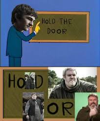 Know Your Meme The Game - hodor hold the door game of thrones know your meme