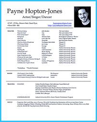 us resume format professional actor headshots headshot and resume sle vozmitut