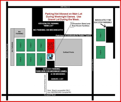 Fc Dallas Field Map by Utd Parking Map Map Of Utd Parking Texas Usa