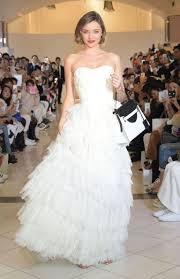 wedding dress miranda kerr this is what miranda kerr looks like in a wedding dress