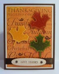 thanksgiving card made using the cricut my crafts
