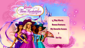 barbie musketeers images main menu