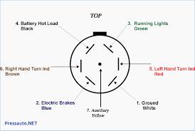 pin trailer plug wiring diagram 7 way flat on pinterest