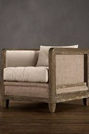 Restoration Hardware Armchair Devon Spitfire Leather Chair Without Casters Chairs