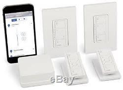smart light switch dimmer in wall dimmer kit wireless smart lighting homekit enabled diy