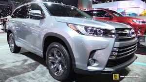 cars toyota 2017 2017 toyota highlander limited hybrid exterior and interior