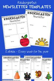 the 25 best kindergarten newsletter ideas on pinterest