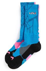 Nike Hyper Elite Quarter Socks Nike U0027lebron Hyper Elite U0027 Cushioned Basketball Crew Socks Big