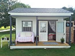 White House With Black Trim Custom Designed Structures Pine Creek Structures