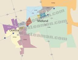 Miami Dade Zip Code Map by Odessa Zip Code Map Zip Code Map