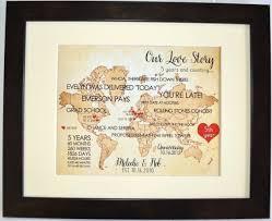 geschenk zum 1 hochzeitstag custom 1st wedding anniversary gift for husband him