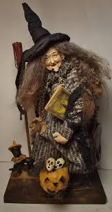 vintage halloween crafts handmade witch by kim sweet kim u0027s klaus antique vintage halloween