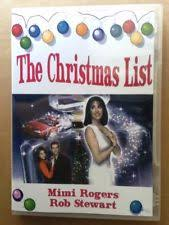 christmas list dvd the christmas list dvd ebay