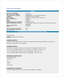 Fresher Accountant Resume Sample by 23 Resume Format Samples Free U0026 Premium Templates