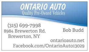 ontario auto brewerton ny read consumer reviews browse used
