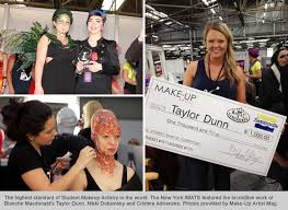 Makeup Schools Nyc Blanche Macdonald Owns The Podium At The 2012 New York Imats