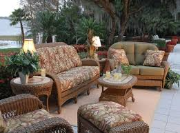 Outside Cushions Patio Furniture Walmart Outdoor Patio Furniture Wicker Intended For Popular House