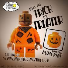 the horrors of halloween custom trick u0027r treat sam lego minifigure
