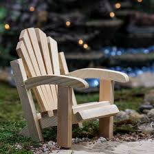 Unfinished Wood Chairs Mini Wood Adirondack Chair Doll Accessories Doll Making