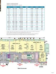 orange county convention center map orange county convention center facility floor plans page 10