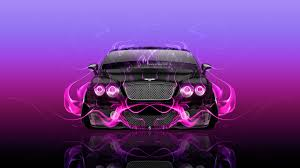 bentley pink bentley continental gt front fire abstract car 2015 wallpapers el