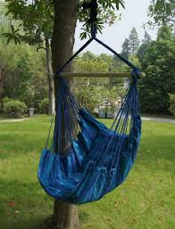 Free Standing Hammock Chair Bohemian Boho Cushioned Blue Hammock From Go Get Glam Bohemian