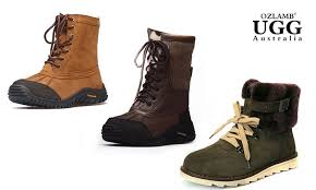 buy ugg boots nz unisex ozlamb ugg hiking boots groupon goods