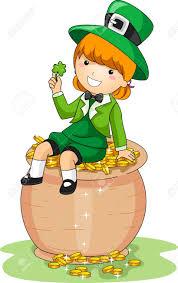 573 female leprechaun stock vector illustration and royalty free