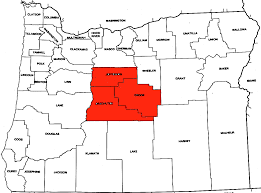 Map Of Central Oregon by File Central Oregon Cropped Png Wikimedia Commons